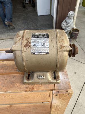 Vintage craftsman 1 horsepower motor for Sale in Bellingham, WA