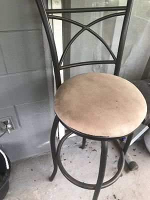 Metal Bar stools reduced to $20 for Sale in Union Park, FL