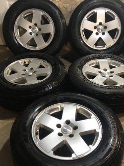 "18"" Jeep Wrangler Rims And Tires for Sale in Livingston,  NJ"
