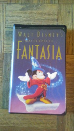 Walt Disney's Masterpiece Fantasia VHS for Sale in Anderson, SC