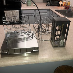 Mesa Pick up Recker/Brown Cross Posted Silver Kitchen Countertop Items for Sale in Mesa, AZ
