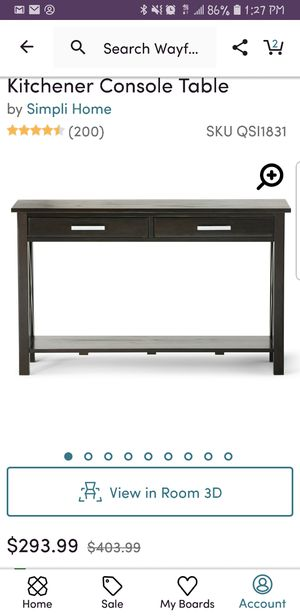 Console table for Sale in Davenport, FL
