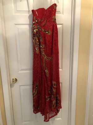 Prom dress. Brand: Panoply, size 0. Worn once. For shipping must purchase thru OfferUp app. for Sale in Toms River, NJ