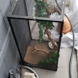 Gecko Cage Complete for Sale in Los Angeles, CA