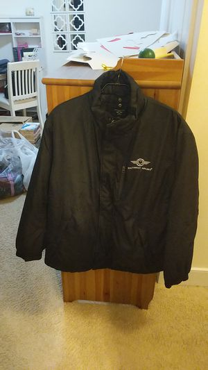 Southwest Airlines Heavy filled jacket with hood for Sale in Laurel, MD