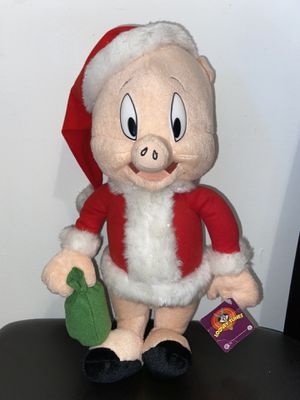 "Brand New Large Looney Tunes Porky The Pig Plush 15"" for Sale in Bellflower, CA"