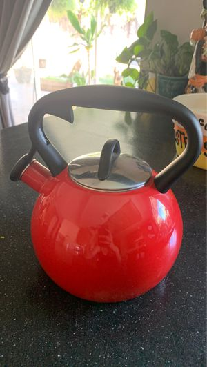 Red Tea Kettle for Sale in Grand Terrace, CA