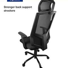 Professional Ergonomic Mesh Office Chair with Adjustable Headrest/Neck Support for Sale in Tempe, AZ