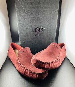 UGG Henrick Slip-on Mens Size 13 Red Nubuck Suede 1013136 M / TSRD for Sale in Scottsdale, AZ