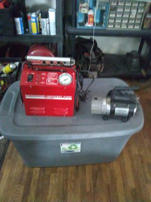 Refrigerant recovery pump, 1640RRP, 110 VOLT, 4AMP for Sale in Wichita, KS