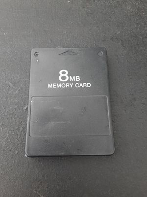 PS2 memory card $8 for Sale in Washington, DC