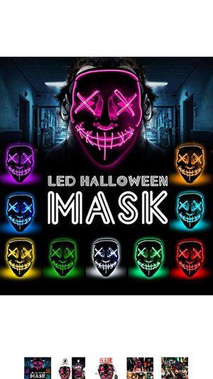 LED Halloween Masks for Sale in Arlington, TX