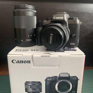 Canon M5 Bundle for Sale in West Palm Beach, FL