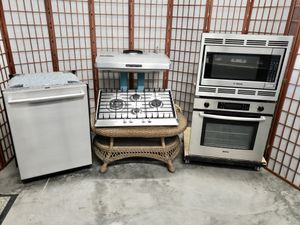 """Premium Bosch Stainless Steel Appliances with 27"""" Oven and Microwave for Sale in North Las Vegas, NV"""