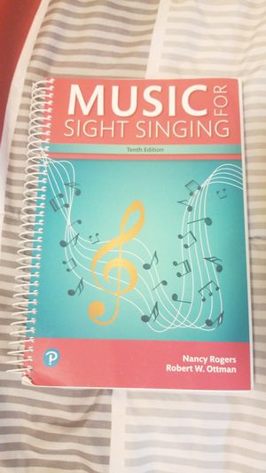 Music for Sight Singing 10th edition for Sale in Yelm, WA