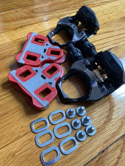 Bontrager road pedal set, black. for Sale in Queens, NY
