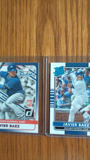 Javier Baez RC Chicago Cubs 4 of them. for Sale in Kissimmee, FL