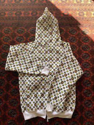 Bape Baby Milo x Kaws White Monogram Zip Up Hoodie for Sale in Yorba Linda, CA