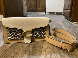 Coach tabby bag ( combination snake skin ) for Sale in Lakewood, CO