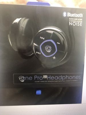 Brand new, never been used One Pro HD Smart Wireless Headphones with Full Voice Control for Sale in Fresno, CA