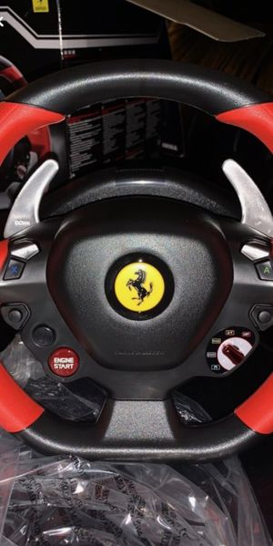 Ferrari 458 Spider Racing Wheel Come and Get it , best offer ! Or 100 bucks for Sale in Glen Burnie, MD