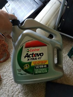 SAE 10w-40 PERFORMANCE OIL motorcycle oil for Sale in Denver, CO