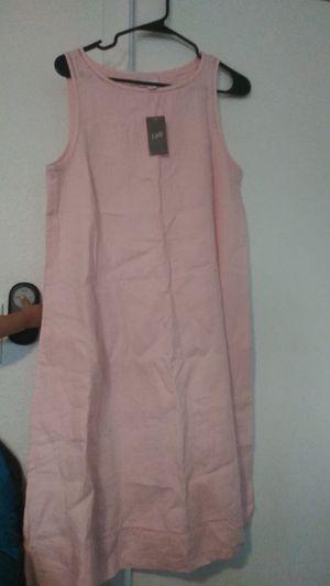 J.jill pink blush dress for Sale in Menlo Park, CA