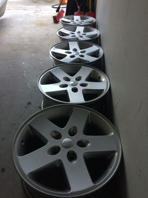 2015 jeep wheels for Sale in Kyle, TX