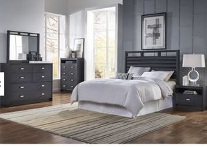 5 piece bedroom set including mattress for Sale in Abilene, TX