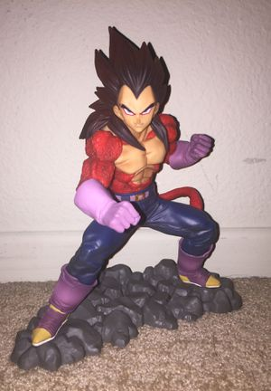 Dragonball Z Dokkan Battle SS4 Vegeta statue for Sale in Menifee, CA