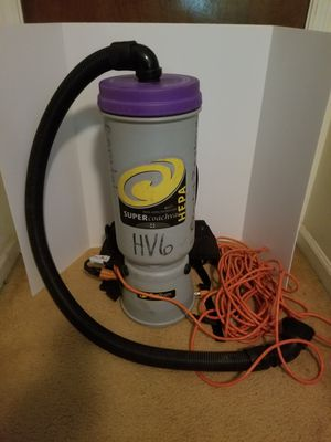 ProTeam SUPER COACH HEPA Backpack Vacuum CLEANER for Sale in Norcross, GA
