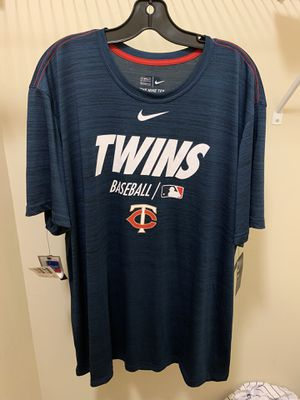 Minnesota Twins Baseball Nike Dri-Fit Tee Size XXL for Sale in Cumming, GA