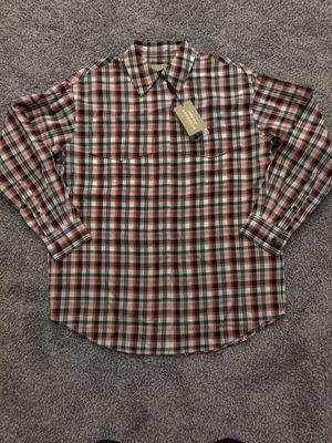 Mens burberry longsleeve dress shirt.Size 4 for Sale in Seattle, WA