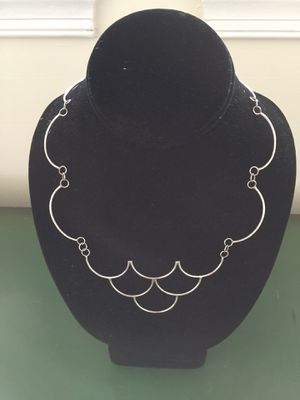 "Handmade Sterling Silver ""Grapes"" Necklace for Sale in Alexandria, VA"