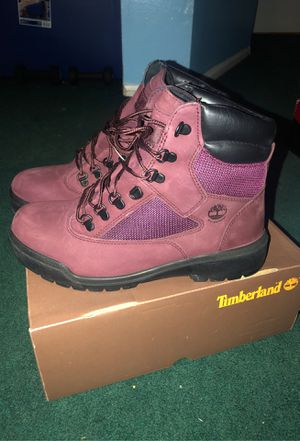 Burgundy Timbs for Sale in Toms River, NJ