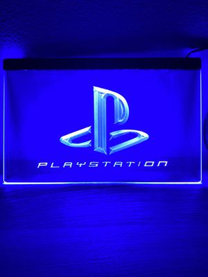 PlayStation PS4 PS5 Supreme LED Neon Display Sign - Gamer GameStop Twitch Stream Xbox Ninja Sony for Sale in Anaheim, CA