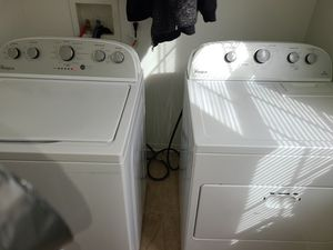 Whirlpool washer and dryer set for Sale in Newport News, VA