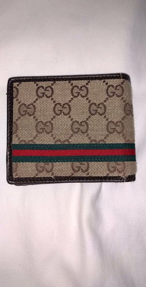 Webb GG Gucci Bi Fold Wallet for Sale in Scottsdale, AZ