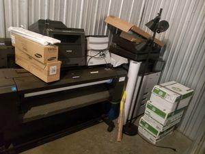 HP DesignJet T930 and Samsung MultiExpress Laser copier for Sale in Edgewood, WA