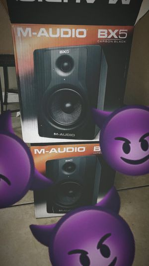 M audio bx5 speakers for Sale in Lansdowne, MD