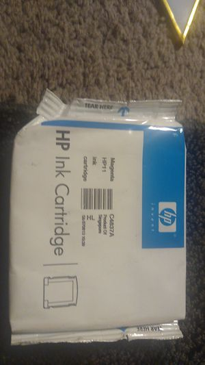HP 11 ink cartridge the color magenta for Sale in Puyallup, WA