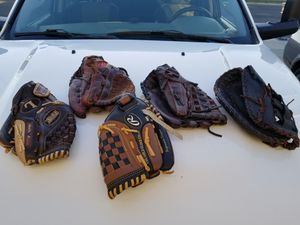 Sortball an base ball gloves for Sale in Fresno, CA