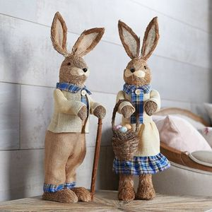 2-Piece Bunny Couple in Ivory and Blue Outfits for Sale in Pompano Beach, FL