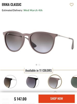 Rayban Erika Classic - Brown/Silver (Mauve) for Sale in Los Angeles, CA