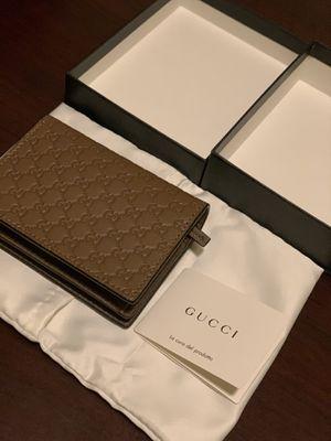 Gucci Microguccissima Brown Card Case Wallet 544474 for Sale in Rancho Cordova, CA