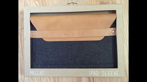Mujjo iPad Envelope Sleeve for Sale in Riverwoods, IL