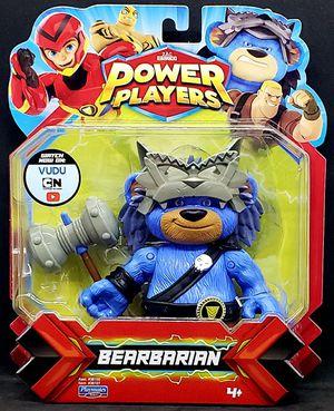 ZAG Heroez Power Players Bearbarian Action Figure Playmates Cartoon Network NEW for Sale in Harrisonburg, VA