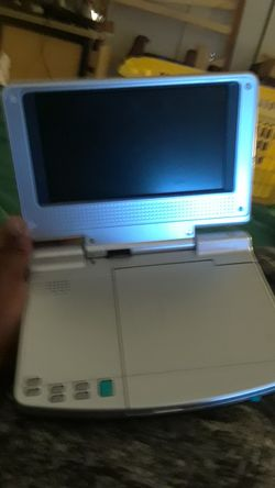 Portable DVD player go anywhere 7 model number PVS 12701 for Sale in Silver Spring,  MD