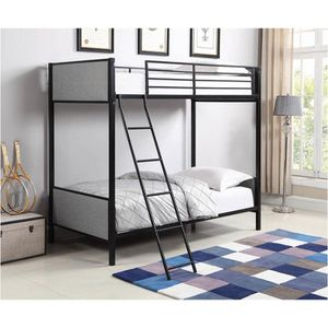 New twin over twin bunk bed tax included for Sale in Hayward, CA