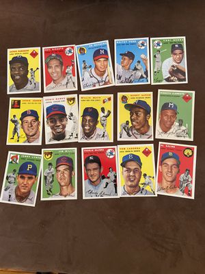 Baseball cards topps 1954 archive set for Sale in Monroe Township, NJ
